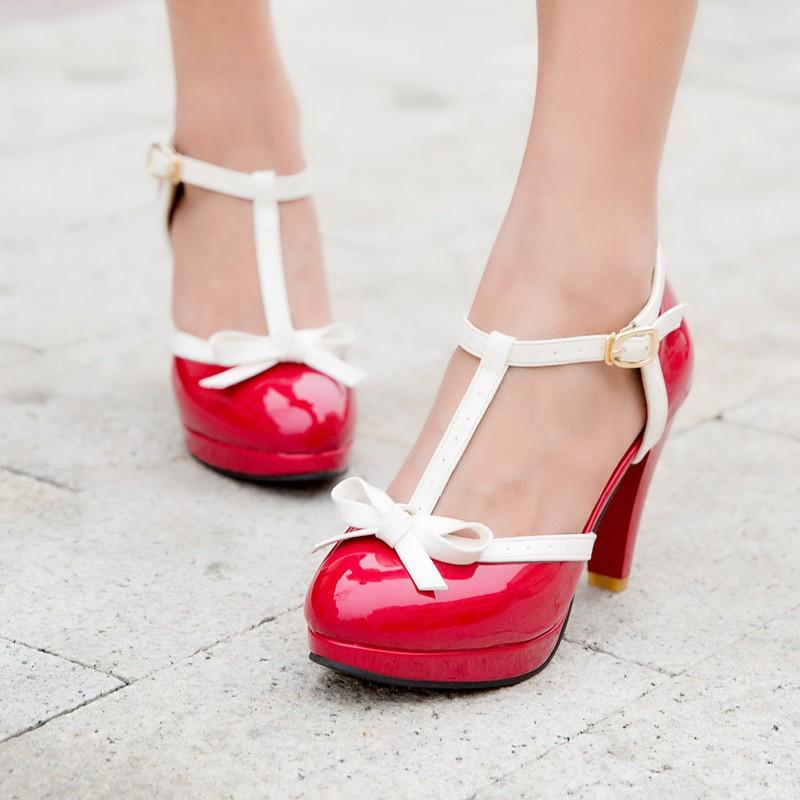Anna Red – High Heels Sale